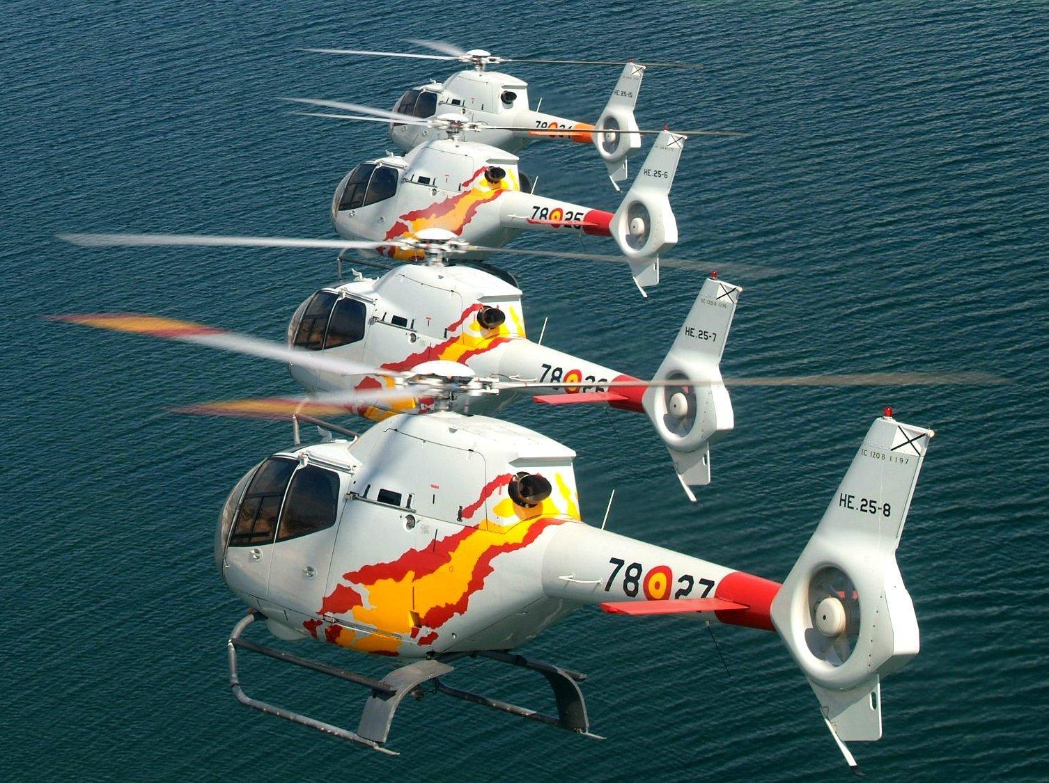 Helicópteros EC-120 Colibrí